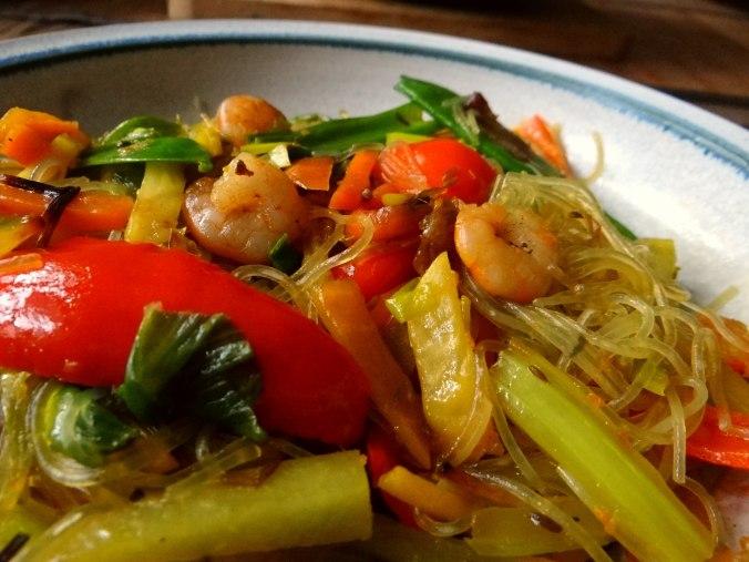Asiatisches Gemüse mit Garnelen (16)