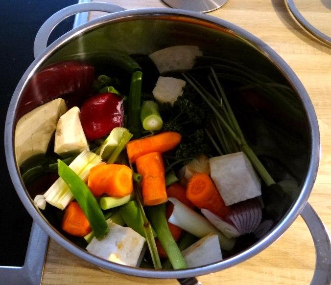 Kartoffelsuppe mit Garnelen (5)