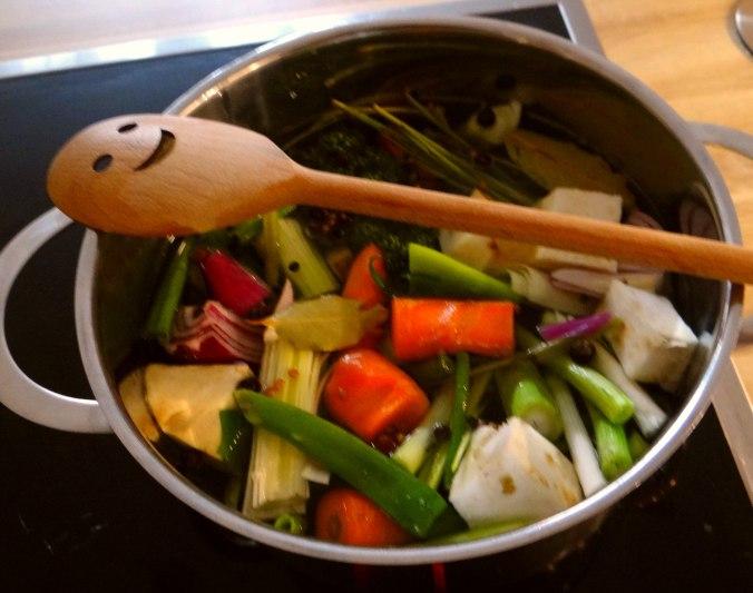 Kartoffelsuppe mit Garnelen (7)