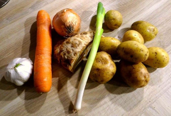 Kartoffelsuppe mit Garnelen (8)