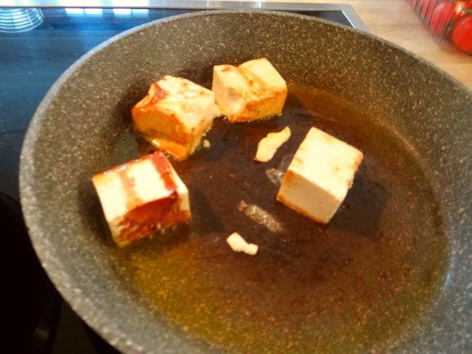 Kürbispüree,Tofu,Salate (10)
