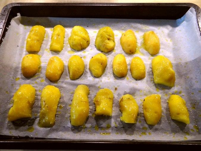 Schwarzwurzel,Ofenkartoffel,pochiertes Ei (8)