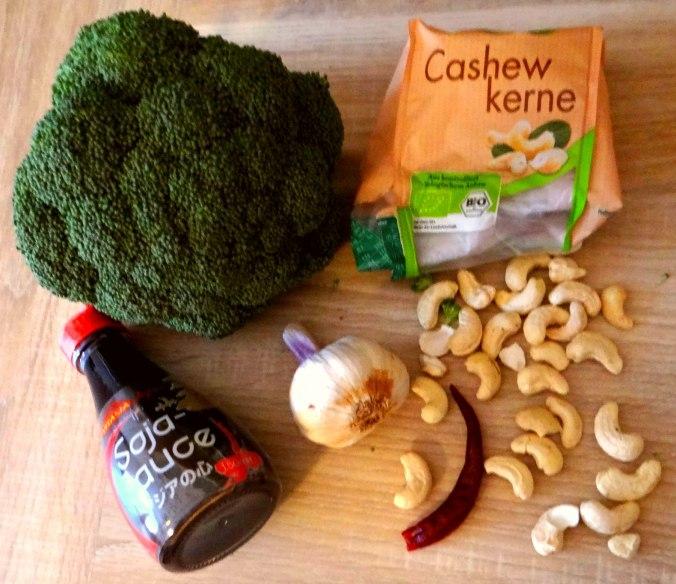 Brokkoli mit Riesengarnelen (3)