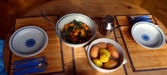 Grünkohl,Hokkaido,Kürbis,Pellkartoffeln,vegan (4)
