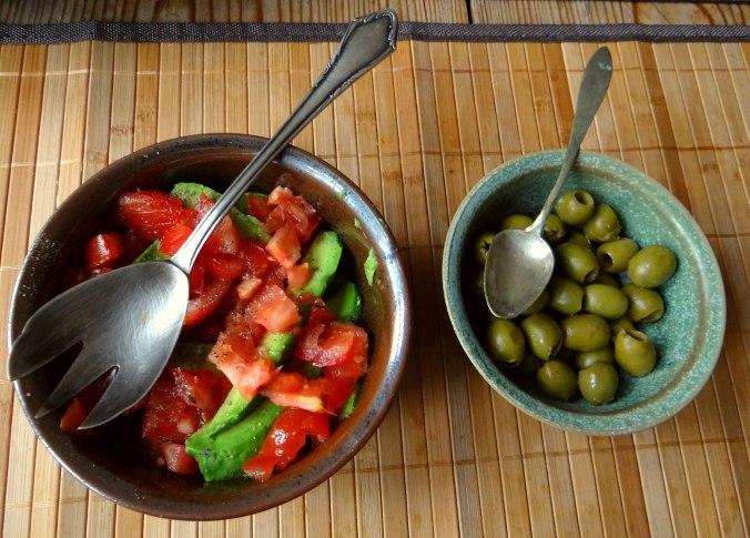 Kichererbsenmehl Pfannkuchen und Baba Ganoush (10)