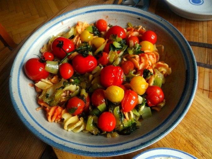 Pak Choy,Tomaten Spirelli (10)