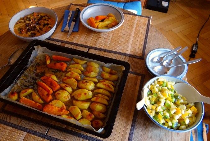 Pastinaken,Ofenkartoffeln,Obstsalat (12)