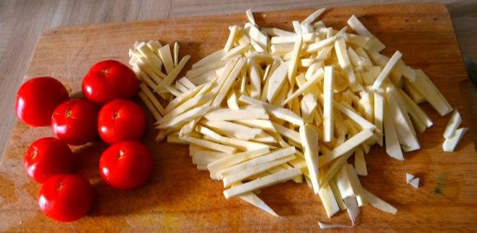 Pastinaken,Ofenkartoffeln,Obstsalat (8)