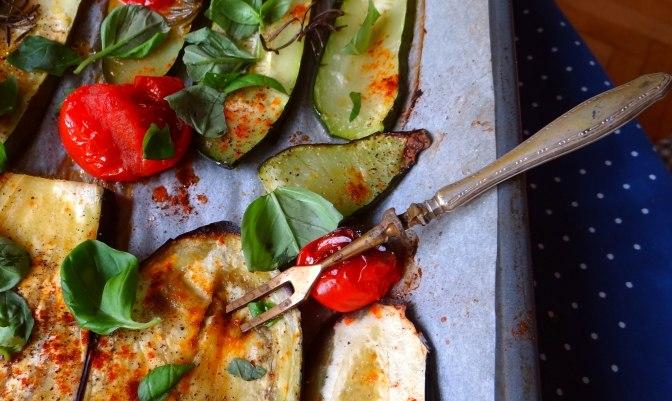 AuberginenZucchini aus dem Ofen (11)