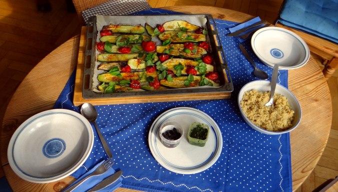 AuberginenZucchini aus dem Ofen (4)