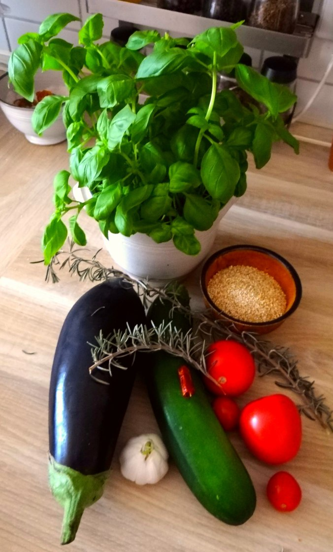 AuberginenZucchini aus dem Ofen (5)