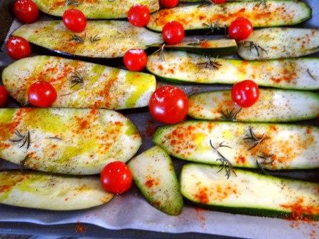 AuberginenZucchini aus dem Ofen (8)