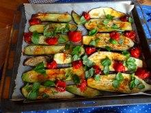 AuberginenZucchini aus dem Ofen (9)