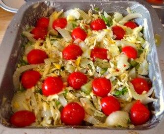 Fenchel Gratin und Kartoffelstampf (15)