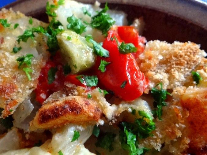 Fenchel Gratin und Kartoffelstampf (3)