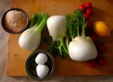 Fenchel Gratin und Kartoffelstampf (8)