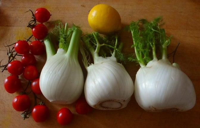 Fenchel Gratin und Kartoffelstampf (9)