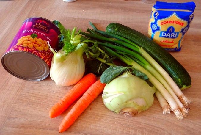 Gemüse Couscous (4)