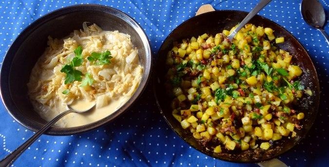 Geschmorter Chinakohl mit rohgebratenen Kartoffeln (12)