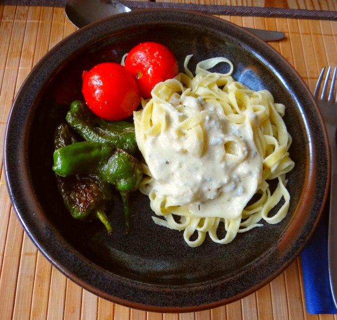 Selbstgemachte Nudeln,Gorgonzola Sauce 1 (2)