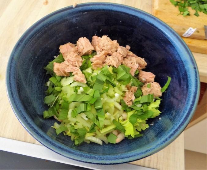 Bohnen,Thunfisch,Bärlauch (10)