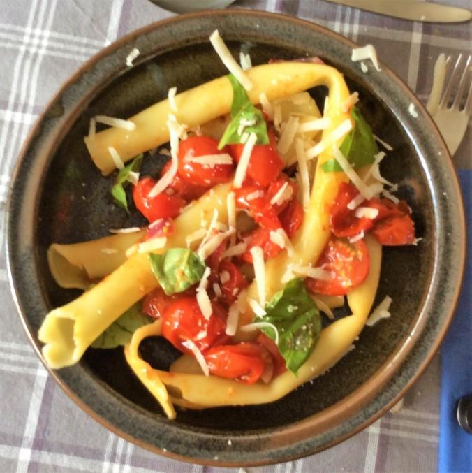 Candele,,gedünstete Tomaten (1)