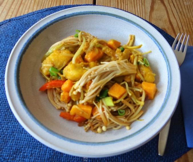 Kochbanane,Enoki,Süßkartoffel (1)
