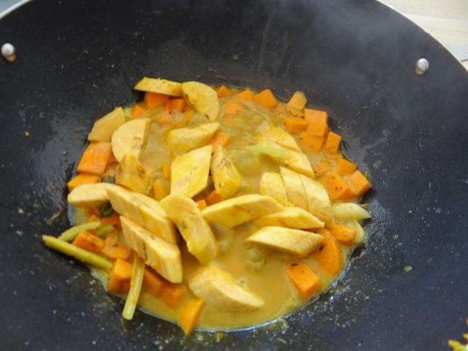 Kochbanane,Enoki,Süßkartoffel (8)