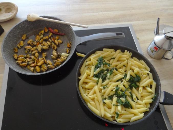 Nudeln,Spinat,Muscheln (8)