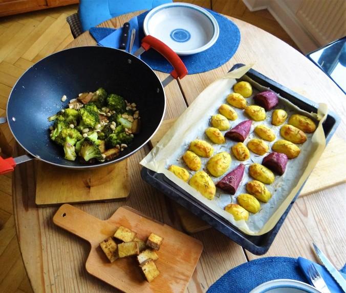 Ofenkartoffeln,Brokkoli,Räuchertofu (3)