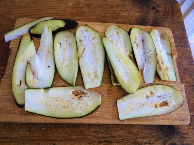 Paprika,Auberginen Röllchen,Vollkorn Bulgur (6)