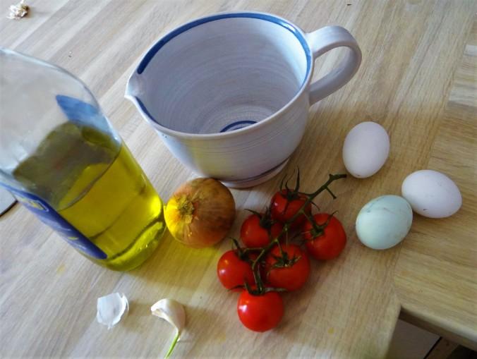 Spargel Omlett,gemischter Salat (5)